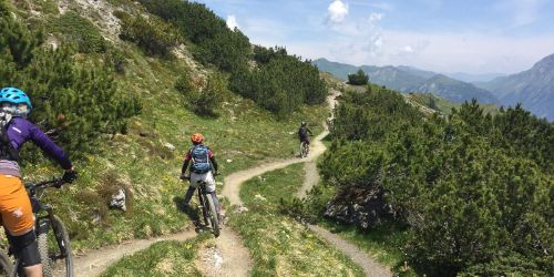 Lenzerheide Lady's bike camp
