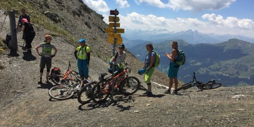 Enduro Bike Camp Lenzerheide